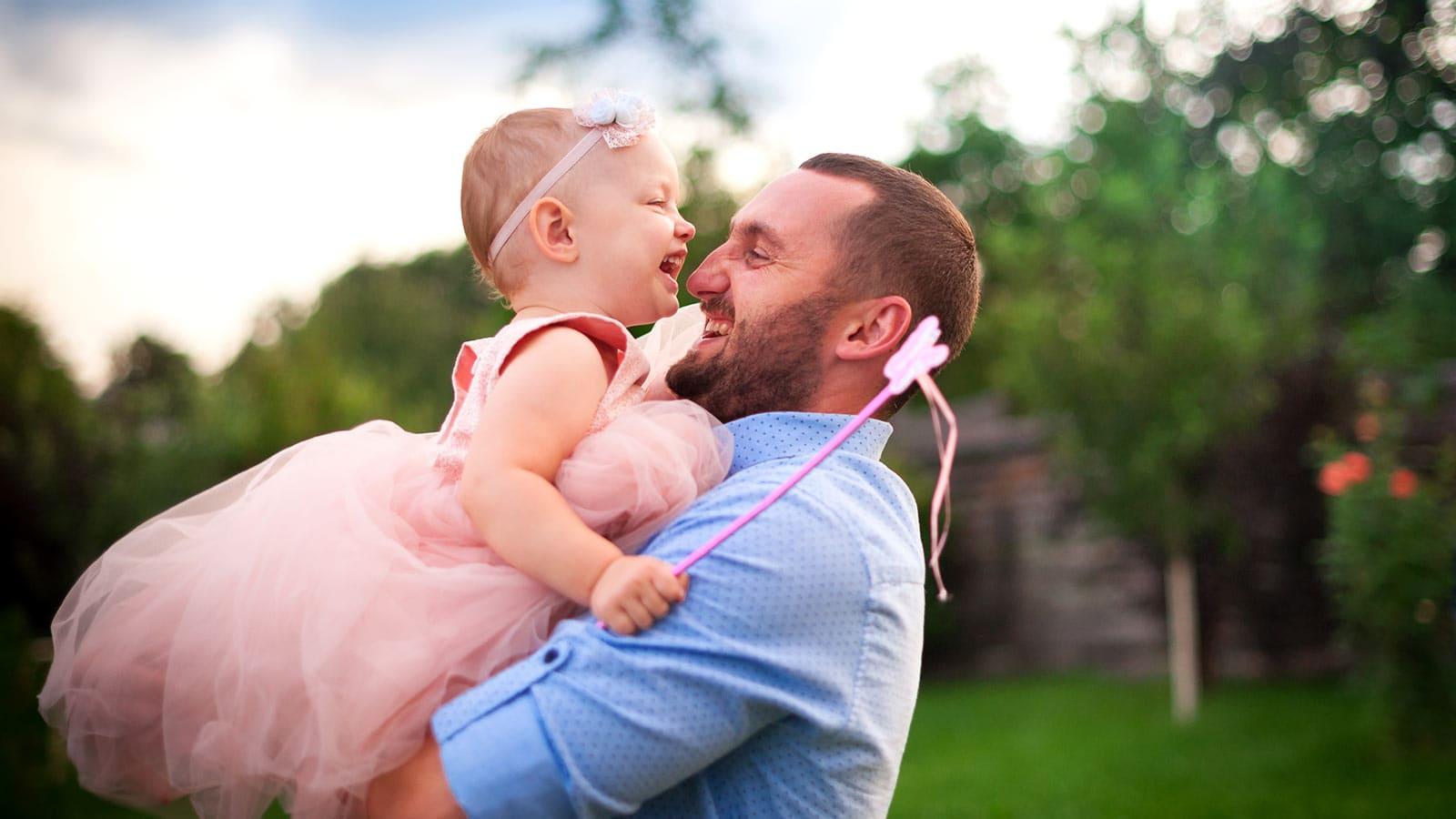 Как стать хорошим отцом для дочери ?