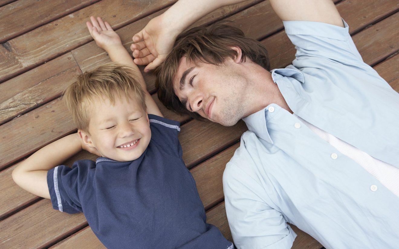 Отцовская любовь. Отец и сын